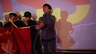 Jamie Webster / BOSS Night - Virgil Van Dijk Song - Backstage / Munich - 13.03.19