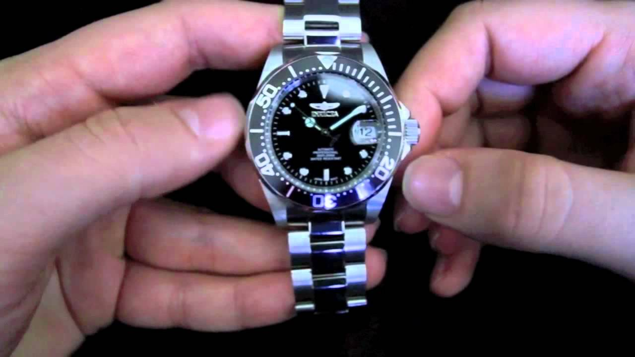 Invicta Pro Diver 8926 Watch Review - YouTube