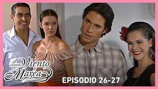 Contra viento y marea: Natalia sufre al ver a Sebastián con Luna Gitana | Resumen C26-27 | tlnovelas
