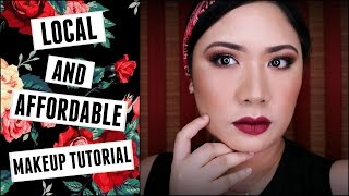 LOCAL and AFFORDABLE Makeup Tutorial || Michelle Zamora