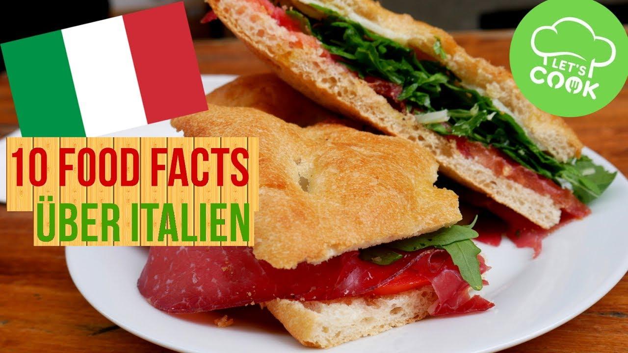 10 food facts ber italien was man ber essen in italien wissen muss youtube. Black Bedroom Furniture Sets. Home Design Ideas
