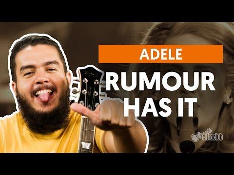 Rumour Has It - Adele (aula de violão simplificada)