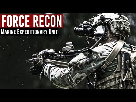 Force Recon USMC / Marine Expeditionary Unit 2018