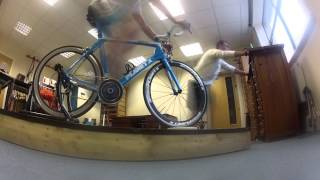 Retul bike fitting at Planet X bikes