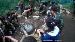 Уроки выживаемости в лагере ВоМА часть 1. Survival lessons in VoMA Military Camp part 1
