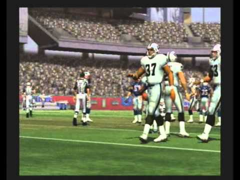 MADDEN NFL 07 Historic Teams Tournament 1983 Los Angeles Raiders vs 2008 New England Patriots