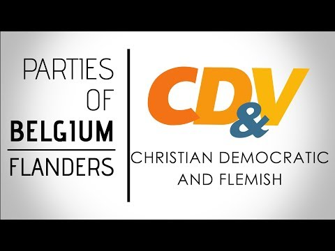 Christen-Democratisch en Vlaams | Christian Democratic & Flemish | Belgium, Federal Election 2019