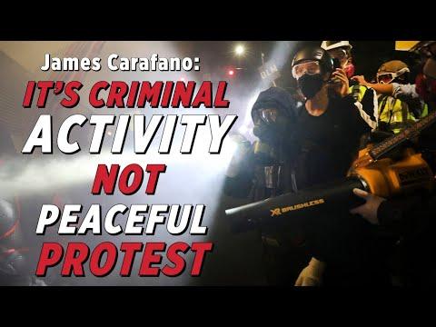 Portland Riots Are Organized Criminal Activity | James Carafano on Georgene Rice Show