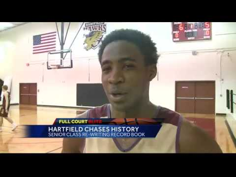 Hartfield Academy chases history on the hardwood