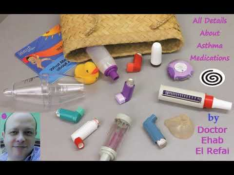 MANAGEMENT OF PEDIATRIC ASTHMA | Part (2) | Lecture by Dr. Ehab El-Refai