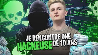 "I RENCONTRE A ""HACKEUSE"" OF V BUCK OF 10 YEARS ON FORTNITE ..."