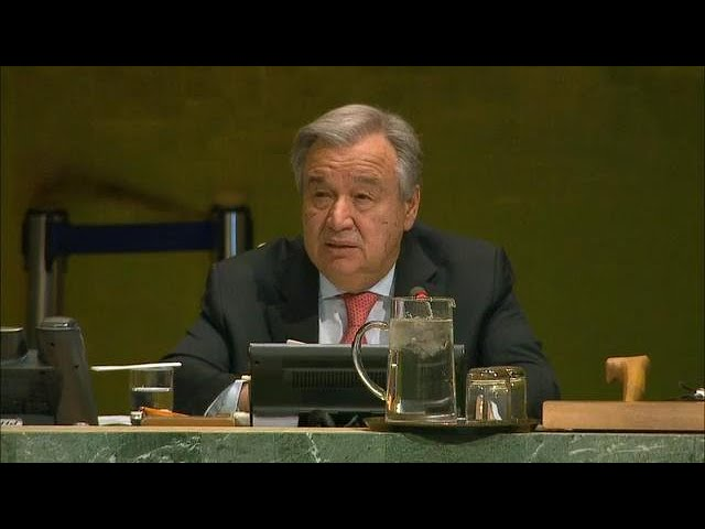 António Guterres on Eliminating Racism, Racial Discrimination, Xenophobia & Related Intolerance