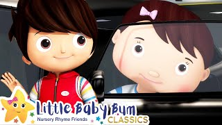 Driving In My Car Song | Nursery Rhyme & Kids Song - ABCs and 123s | Learn with Little Baby Bum