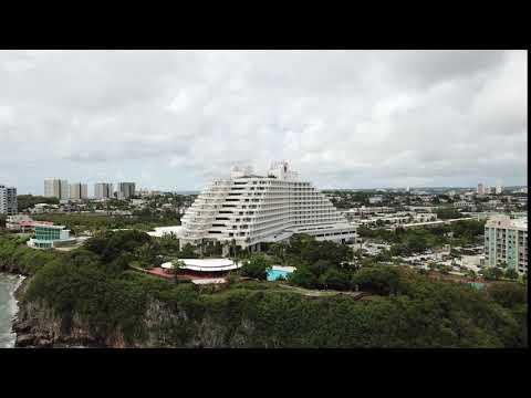 Guam Sheraton Laguna Resort and Spa from Mavic Pro