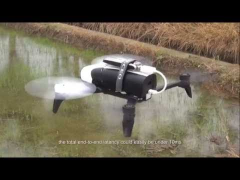 Ericsson and China Mobile conduct world's first 5G drone prototype field trial