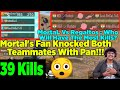 mortal 39 s 1st match after maxing 100rp s9 39 kills mortal latest gameplay highlights pubg mobile