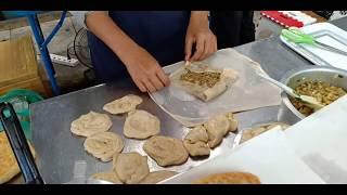 Street Food - โรตีมะตะบะ ตลาดนัดกรมการแพทย์ กระทรวงสาธารณสุข
