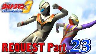 Ultraman FE3 - Battle Mode Request Part 23 - Evil Tiga vs 5 Heisei Ultra