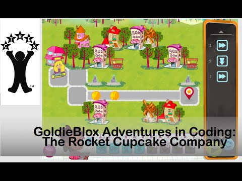 GoldieBlox Adventures in Coding: The Rocket Cupcake Company