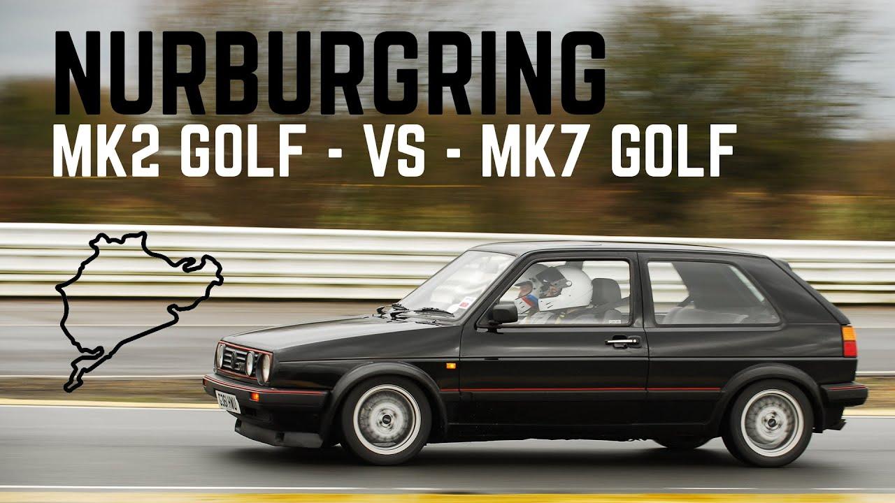 Gti Mk7 R >> Nurburgring - Mk2 Golf GTI 8v - VS - Mk7 Golf GTI - YouTube