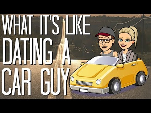 guy dating car
