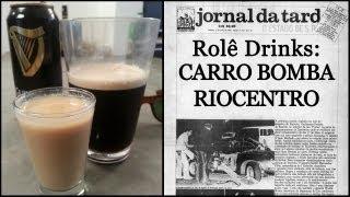 Rolê Drinks - Carro Bomba Riocentro (irish Car Bomb) [com E Sem álcool]