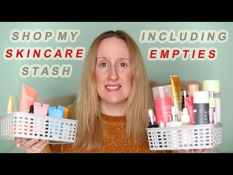 Shop My Skincare Stash | Product Reviews | Skin Care Empties
