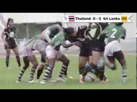Highlights of the ARFU Women's Asian Rugby Sevens Series - Bangsean