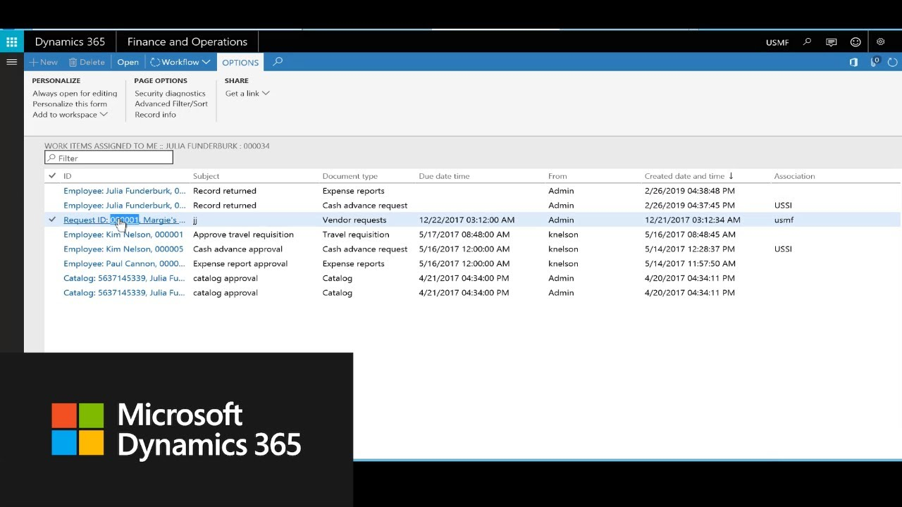 Onboard a new vendor in Dynamics 365 for Finance and Operations