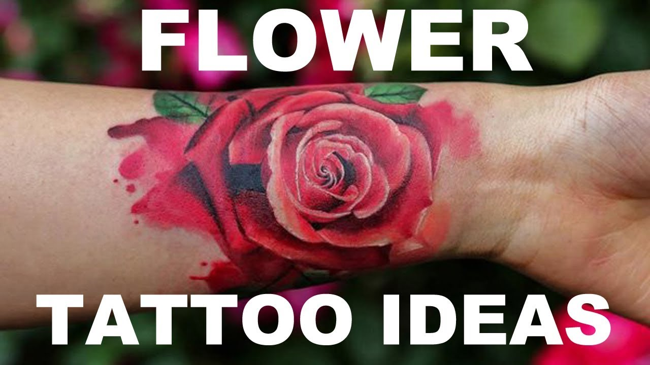 Pretty Flower Tattoo Ideas That Will Always Be Popular Mybodiart