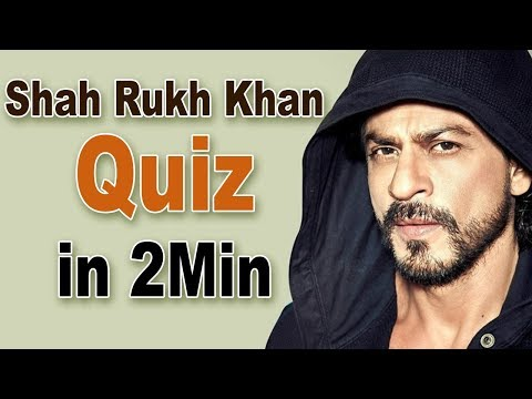 Shah Rukh Khan Quiz: How Well Do You Know The Badshah Of Bollywood?