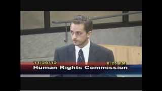 School to Prison Pipeline - attorney speaks to Austin Human Right Commission