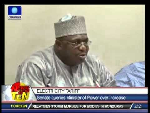 Senate queries Minister of Power over increase in Tariff