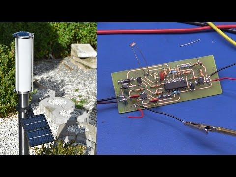 Making a Solar Powered Garden Lamp - Ec-Projects