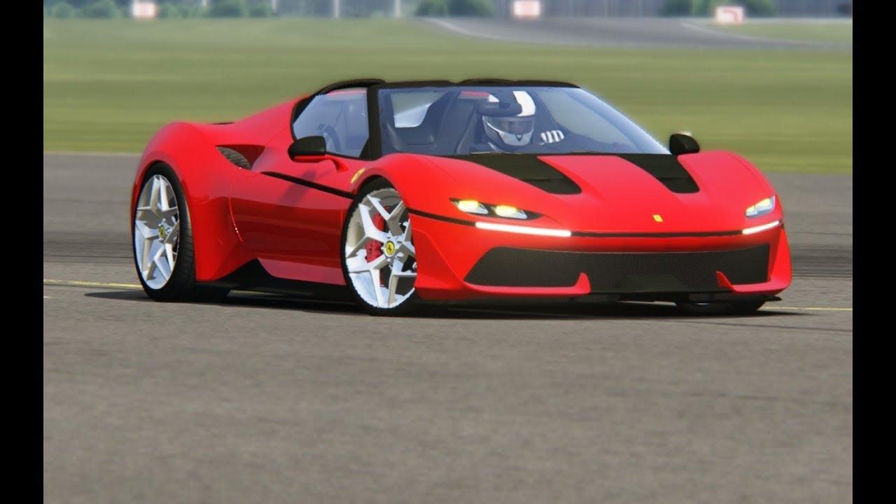Ferrari J50 At Top Gear Testing Youtube