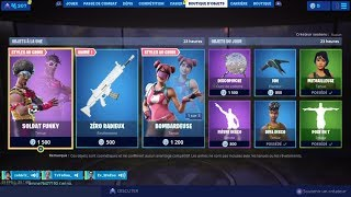 JUNE 12, 2019 - FORTNITE ITEM SHOP AUGUSTE 12 2019 NEW SKIN