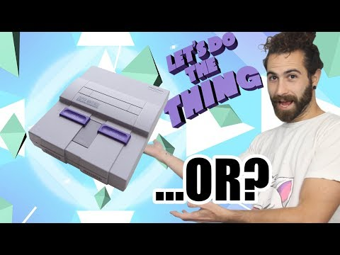 How To Get An SNES Classic Mini, + The Best Alternatives!