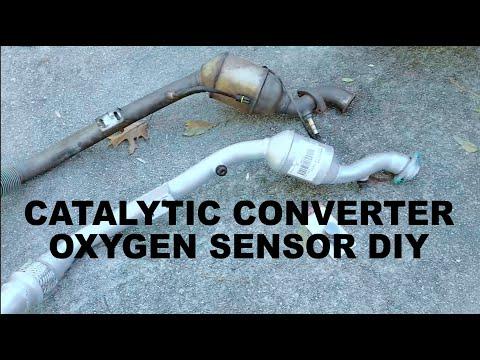 W210 E320 Catalytic Converter and O2 Sensor DIY Replacement
