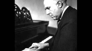 "Gieseking plays Sinding ""Rustle of Spring"""