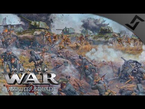Massive 6v6 Bloody River - Robz Mod - Men of War: Assault Squad 2 Multiplayer Gameplay