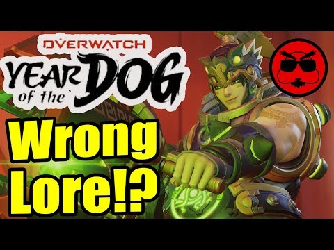 Overwatch Got It Wrong!? Year of the Dog Cultural Skins!