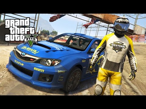 GTA 5 Real Life Mod #52 - RALLY RACING!! (GTA 5 Mods)