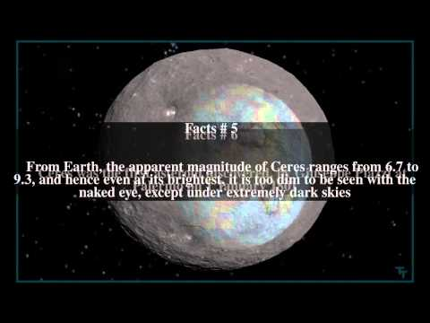 Ceres (dwarf planet) Top # 14 Facts