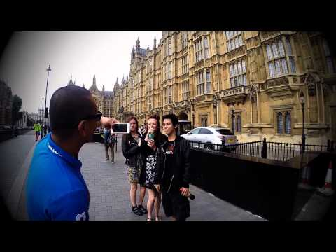 ABRA, LOONIE AND RON HENLEY IN LONDON