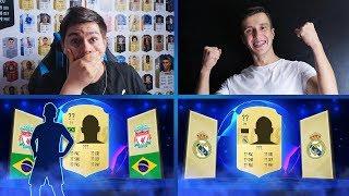 WALKOUT Z LIGI MISTRZÓW! PACK & PLAY vs LISEKHD! | FIFA 19 JUNAJTED