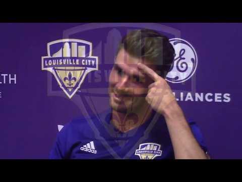 LouCity Midfielder McCabe On A 5-0 Win Over Rival FC Cincinnati