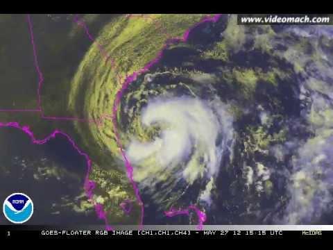 2012 Atlantic Hurricane Season Individual Storms Satellite