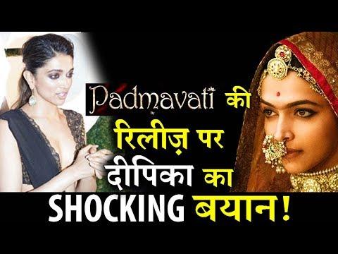 Deepika Padukone's SHOCKING statement on Padmavati Release!