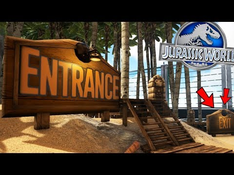 ARK: Jurassic World - EPIC SUBSCRIBER GUEST HOTEL! - (S2E5 Ark Survival Evolved)