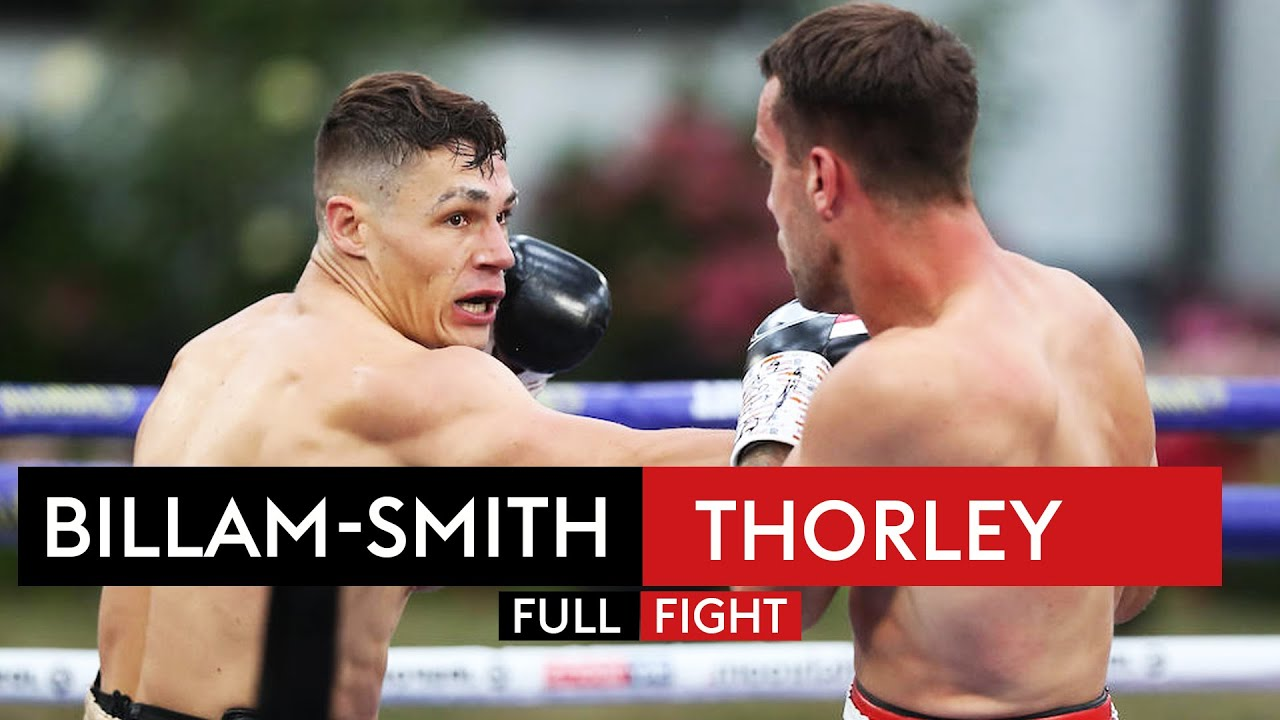 FULL FIGHT! Chris Billam-Smith blasts out Nathan Thorley with HUGE KO! 💥
